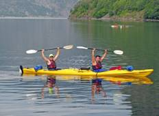 Kayak and Wild Camp Norwegian Fjords Tour