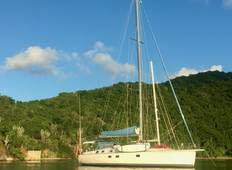 Cabin Charter Sailing Adventure in the BVI Tour