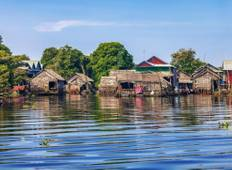 Cambodia Sightseeing Tour from Phnom Penh via Kompong Thom to Siemreap, Angkor Wat Tour