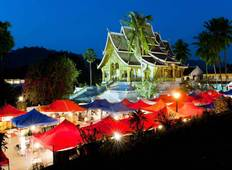 Laos Package Tour from Luang Prabang to Pakse via Vientiane and Khuangsi Waterfall  Tour