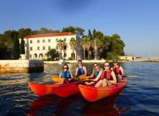 Bike and kayak tour Croatian islands Tour