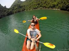 Kayaking in Halong & Lan Ha bay Tour