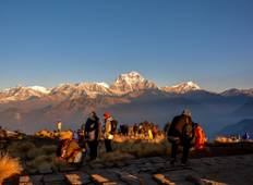 Ghorepani Poon Hill Sunrise trek with Chitwan Jungle Safari Tour