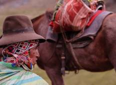Lares Trek to Machu Picchu 4 Days/ 3 Nights  Tour
