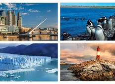 Buenos Aires - Puerto Madryn - Bariloche - Calafate & Ushuaia Tour
