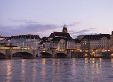 Cruise along 3 borders: France, Germany and Switzerland (port-to-port cruise) Tour