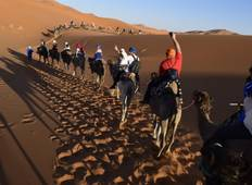 Sahara Desert Tour 3 Days 2 Nights from Fez to Marrakech Tour