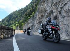 Grand Alps loop motorcycle tour (Guided) Tour