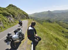 Auvergne Motorcycle Tour (Self-Guided) Tour