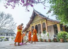 Laos Adventure Overland Tour from Vientiane to Luang Prabang via Vang Vieng, Ban Paklung Tour
