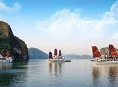 3-Day on Ha Long Bay Deluxe Cruise with Kayaking and Cooking Class  Tour