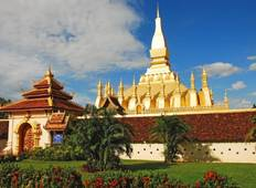Luang Prabang Package Sightseeing Tour to Kuangsi Waterfall, Pak Ou Cave Tour
