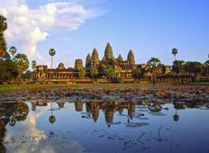 Cambodia Discovery Sightseeing Tour to Angkor Wat, Angkor Thom, Ta Prohm, Tonle Sap Lake Tour