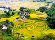 3-day Sapa trekking and Bac Ha market on Sunday Tour