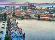 Central European Experience with 2 Nights in Prague & 2 Nights in Paris (Westbound) Tour