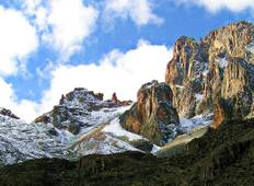4 Days Mount Kenya Trek using the Sirimon Route Tour