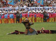 Trans Mongolian with Naadam Festival Tour