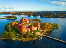 Explore the Baltics in 8 days, 4* hotels Tour