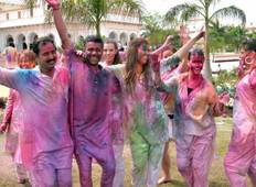 Holi, Festival of Colour - 8 days Tour