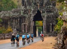 Angkor Cycling and Trekking Tour  Tour