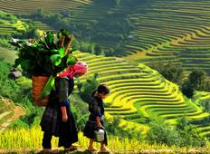 Sapa Trekking & Sightseeing: Sapa - Laochai - Tavan - Catcat - Sinchai - Ma Tra - Ta Phin for 3 Days 4 Nights  Tour