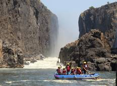 Best of Zambia and Botswana: Whitewater Rafting & Safari Tour
