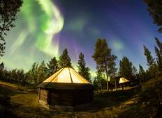 Exclusive Lapland Experiences with Glass Igloo  Tour