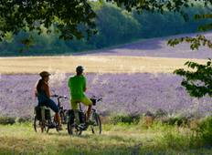 Epicurean E-bike cycling tour in the authentic Provence Tour