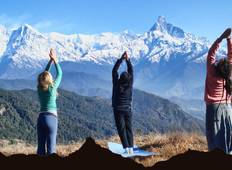 Charity Annapurna Yoga Trek 15 Days Tour