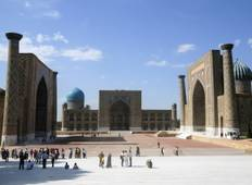 Explore Ancient Samarkand And Tashkent Tour