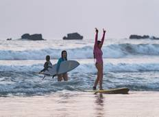 Surf Lessons Package 8 Days in Nosara Tour