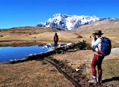 Ausangate Trek nach Rainbow Mountain 4 Tage (klein/PrivateGroup) Rundreise
