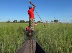 7 Days and 6 Nights Victoria Falls to Okavango Delta-Maun Tour