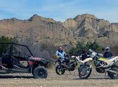 Caucasus Enduro: 6 Day guided motorcycle adventure in Tbilisi, Georgia by Husqvarna FE 250/450 or 701 Enduro Tour