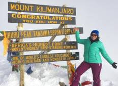 Kilimanjaro climbing machame route 7 days Tour
