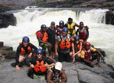 From Victoria Falls, 3 Days Zambezi River Whitewater Rafting  Tour