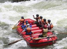 The Best of Whitewater Rafting & Game Safari ( 3 days Rafting and 2 Days Safari) Tour