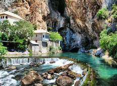 All seasons 4 days Bosnia discovery tour from Split.  Tour