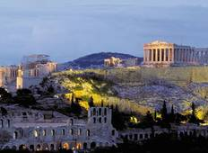 Highlights of Greece Escape with 7-night 3 Continent Cruise Tour