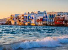 Cultural Athens & Island Hopping Mykonos - Santorini (Self-guided) Tour