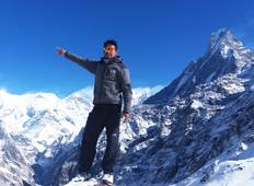 Fishtail Valley View, Mardi Himal Trek Tour