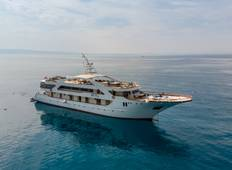 M/S President: 8 days cruise Split - Split on board M/S President visiting Hvar, Brac, Dubrovnik, Mljet...  Tour