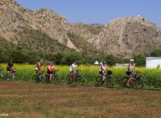 Rajasthan Cycling with Taj and Tiger Tour