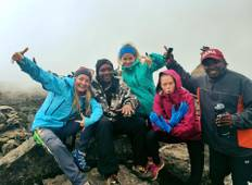 6 days Machame route  Tour
