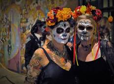La Calaca Festival, Day Of The Dead, San Miguel De Allende, Mexico  Tour
