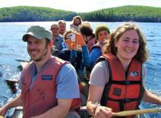 Algonquin Park Log Cabin 3 Day Canoe and Hike Adventure Tour