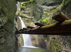 Hiking the Canyons of Slovak Paradise National Park Tour