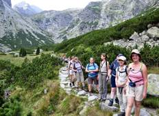 Walking in the Slovakian High Tatras Tour