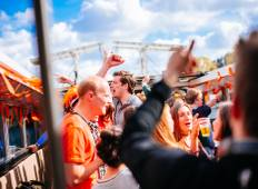 King\'s Day Boat Party and Amsterdam Accommodation (3 Nights) Tour