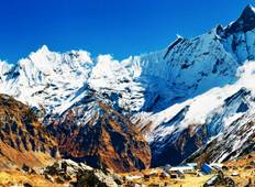 Annapurna Base Camp Helicopter Return trek Tour